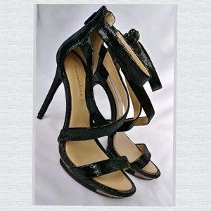 BCBGMAXAZRIA Black Platforms Stilettos Heels